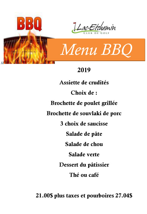 club-de-golf-lac-etchemin-menu-bbq